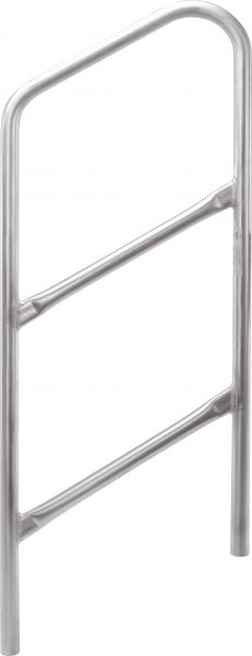 Bullstage Treppengeländer für Treppenpodest 2 Stufen