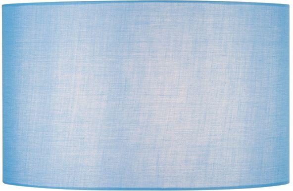 SLV FENDA Leuchtenschirm, rund, blau,