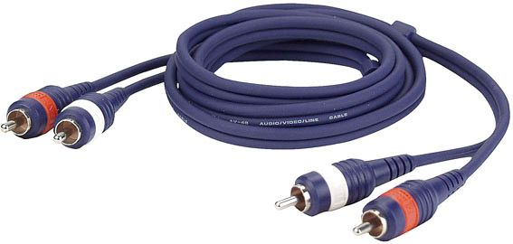 AlphaPlan-Artikel: DAP FL24 - 2 RCA Male L/R > 2 RCA Male L/R 1,5 m