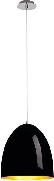 AlphaPlan-Artikel: SLV PARA CONE 30 Pendelleuchte, rund, schwarz/gold, E27 max. 60W