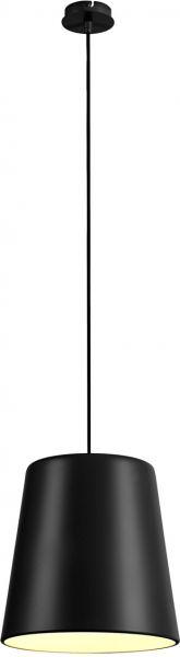 SLV TINTO Pendelleuchte, A60, schwarz, max. 60W