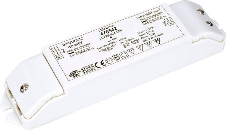 SLV LED-power unit, 20W, 24V