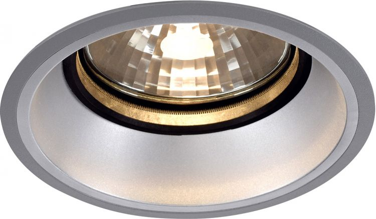 AlphaPlan-Artikel: SLV DIVIS G12 Downlight, tief, silbergrau