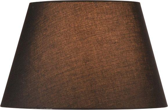 SLV FENDA Leuchtenschirm, konisch, schwarz, Ø/H 45,5/28 cm
