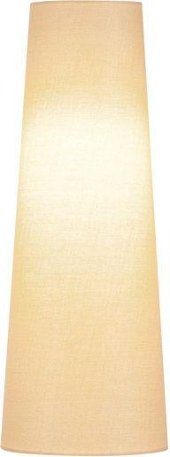 SLV FENDA Leuchtenschirm, konisch, beige, Ø/H 15/40 cm