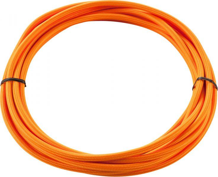 SLV TEXTILKABEL 3-polig, 5 m, orange