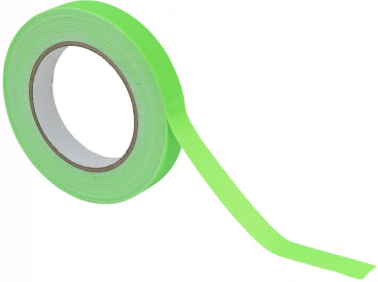 AlphaPlan-Artikel: ACCESSORY Gaffa Tape 19mm x 25m neongrün UV-aktiv