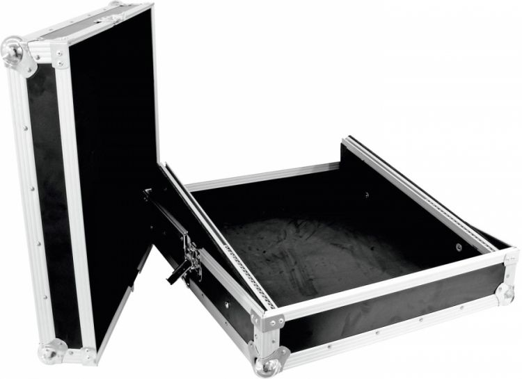 ROADINGER Mixer-Case Profi MCB-19, schräg, sw 10HE