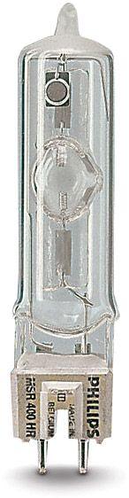 Philips MSR 400 HR, 400W, Sockel: GZZ9,5