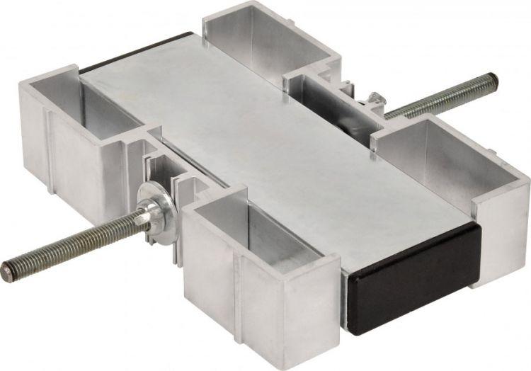AlphaPlan-Artikel: Bullstage Fußverbinder doppelt für 60 mm vierkant Fuß für 4 Füße