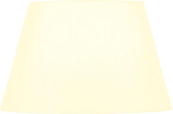 SLV FENDA Leuchtenschirm, konisch, weiß, Ø/H 45,5/28 cm