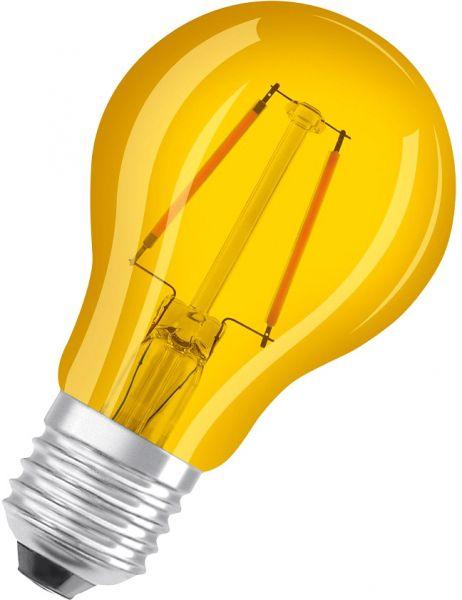 Osram LED STAR DECO CLASSIC A 15 300° 1.6 W/3000 K E27 Gelb
