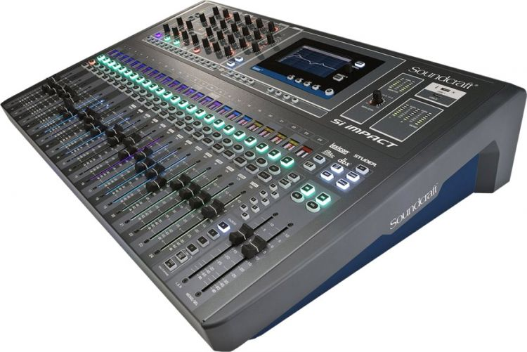 Soundcraft Si Impact Digitaler Mixer
