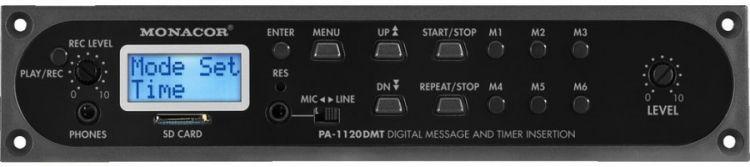 AlphaPlan-Artikel: MONACOR PA-1120DMT Nachrichten/Uhr-Modul