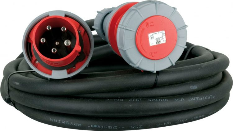 AlphaPlan-Artikel: Showtec Extension Cable, 3 x 63A 380V  10 m/5 x 10 mm2