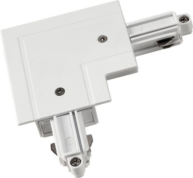 SLV Eckverbinder für 1-Phasen HV-Stromschiene, Einbauversion, Schutz
