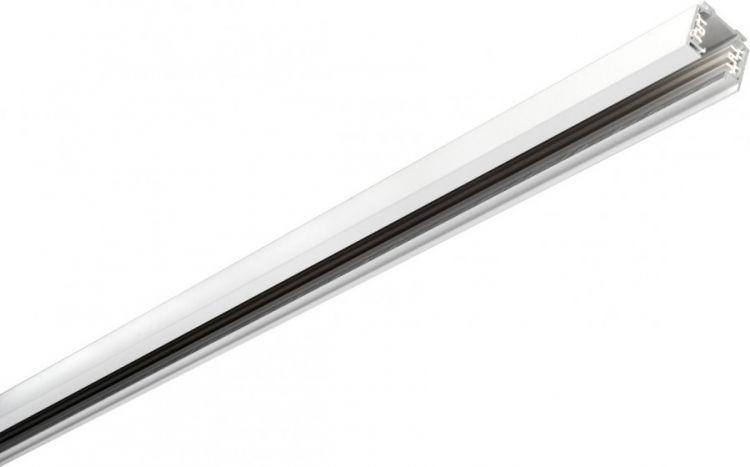 Eutrac 3-Phasen Stromschiene 1m, weiß -Demoware-
