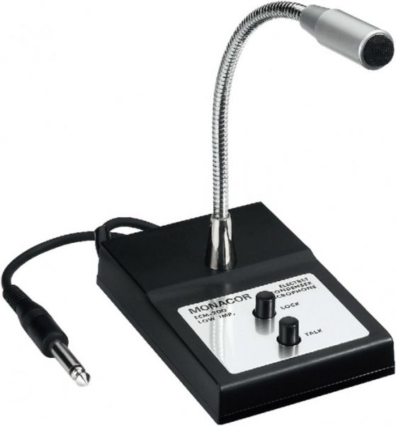 MONACOR ECM-200 Elektret-Tischmikrofon