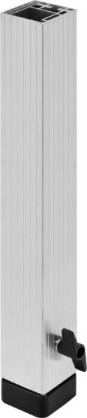 Bullstage Teleskopfuß vierkant 60x60mm - Höhe 60 bis 100 cm