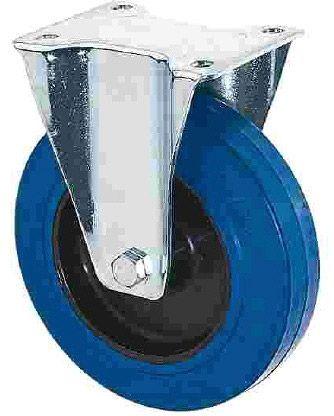 AlphaPlan-Artikel: Riggatec Bockrolle 100mm BLUE WHEEL