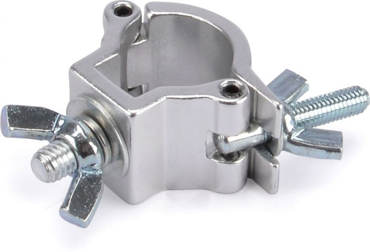 Riggatec Halbschelle - Halfcoupler klein silber bis 10 kg (20 mm)
