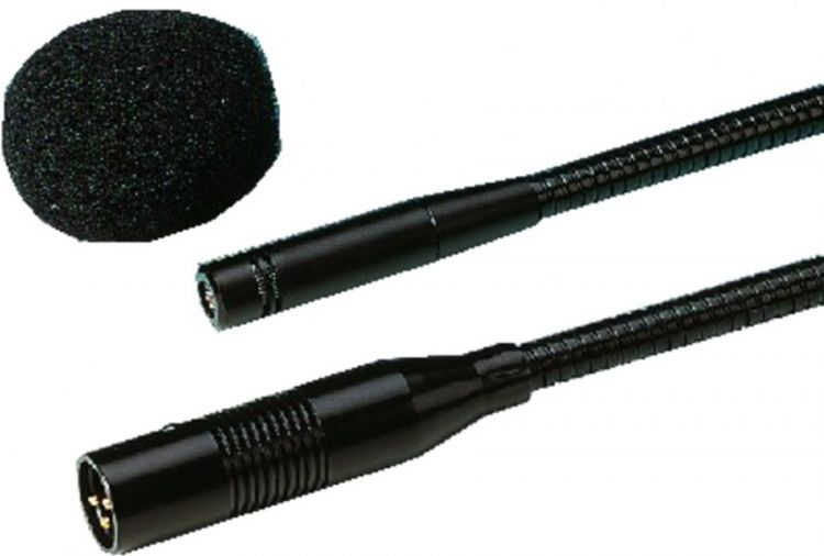 AlphaPlan-Artikel: IMG STAGE LINE EMG-500P Elektret-Schwanenhals-Mikrofon