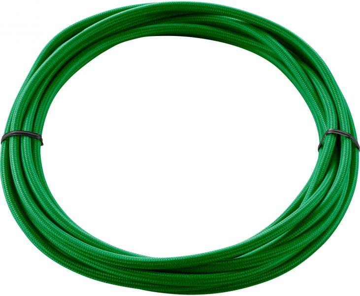 SLV TEXTILKABEL 3-polig, 5 m, grün