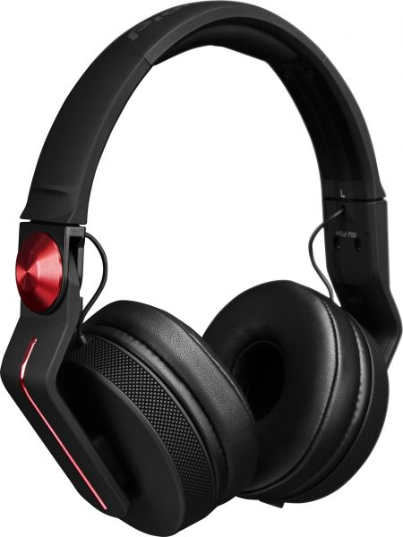Pioneer DJ HDJ-700-R DJ-Kopfhörer rot