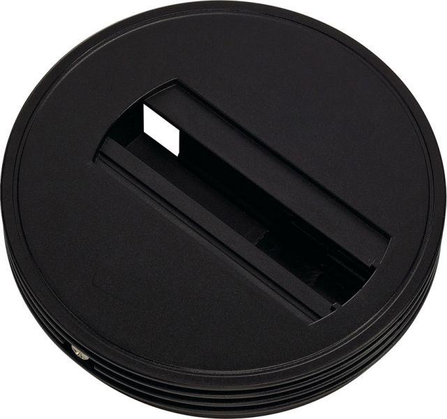 SLV Deckenrosette für 1P.-Adapter, schwarz