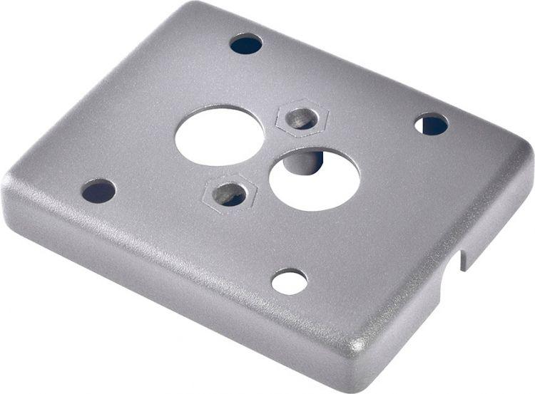SLV Montageplatte für MYRALED WALL, ENOLA_C OUT, silbergrau