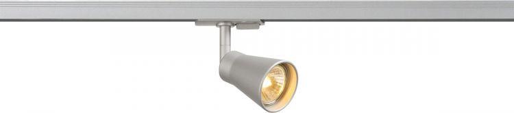 SLV AVO Spot für Hochvolt-Stromschiene 1Phasen, QPAR51, silber, max. 50W