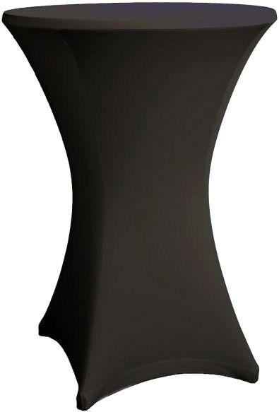 AlphaPlan-Artikel: Stehtisch Husse schwarz für 80-86 cm Durchmesser Stretch
