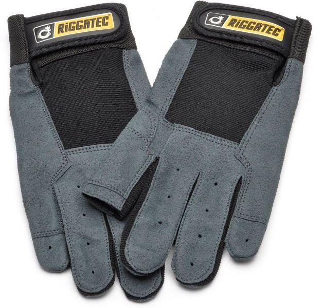 Riggatec Riggerhandschuhe schwarz-anthrazit - L